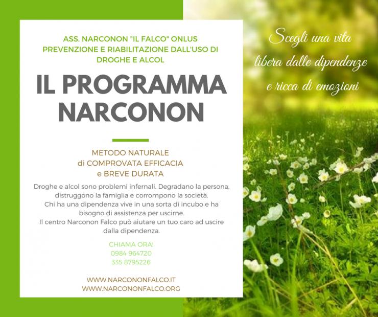 Associazione Narconon Il Falco - Riabilitazione dall'uso di droghe o alcol