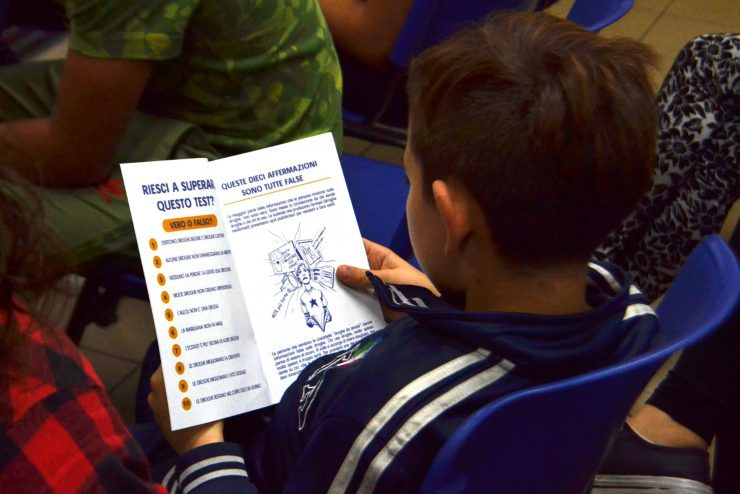 Centro Narconon Falco - campagna di prevenzione nelle scuole